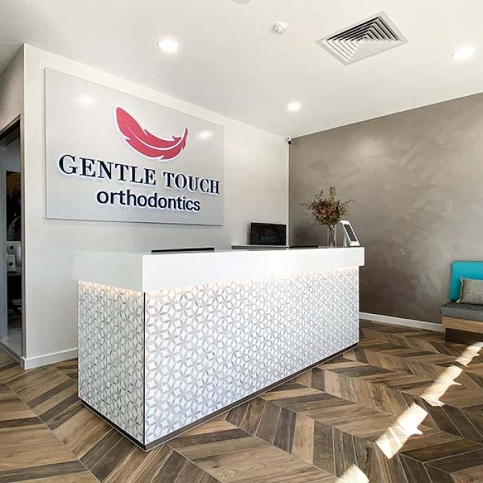 Gentle Touch Ortho St Clair Front Desk & Waiting Area